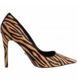 Dune London Amaretti tiger print leather