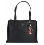 Guess Becca luxury satchel black