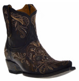 old gringo Western boots beige