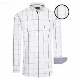 Cappuccino Italia heren overhemd – borstzakje – allover design –