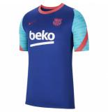 Nike Fc barcelona trainingsshirt 2020-2021 kids blue