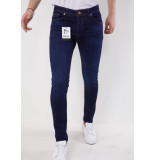 True Rise Jeans slim fit navy 5306