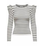 Jacqueline de Yong Cerol striped top |