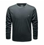 Schöffel Ondershirt men merino sport shirt 1/1 arm m pirate black
