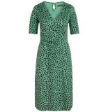 King Louie Cecil dress bobcat neptune green