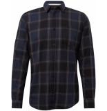 Tom Tailor Heren overhemd ruiten twill kent regular fit
