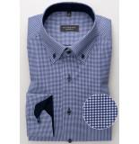 Eterna Heren overhemd geruit twill button down comfort fit