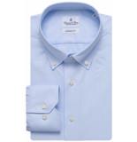 Emanuel Berg Heren overhemd button-down twill modern fit