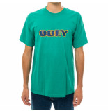 OBEY T-shirt uomo to the core heavyweight classic 166912046.eme