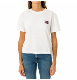 Tommy Hilfiger T-shirt donna tommy jeans tjw tommy badge tee dw0dw06813.ybr