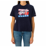 Tommy Hilfiger T-shirt donna tommy jeans tjw signature logo tee dw0dw09070.c87