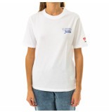 Tommy Hilfiger T-shirt donna tommy jeans tjw summer repeat back dw0dw08455.ybr