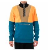 Shoe Felpa uomo anorak + polar fleece panels fermin09