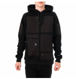 Dolly noire Felpa uomo special pocket hoodie sw391