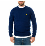 Lyle and Scott Maglione uomo crew neck lambswool blend jumper kn921vf.w157