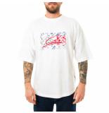 Tommy Hilfiger T-shirt uomo tommy jeans lh oversized logo te mw0mw15294.ybr
