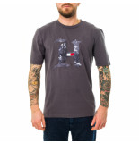 Tommy Hilfiger T-shirt uomo tommy jeans lh marble h tee mw0mw15296.ptw