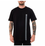 Dolly noire T-shirt uomo logo tape ts004