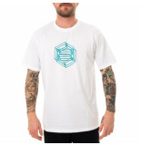 Dolly noire T-shirt uomo logo wireframe ts005.wht