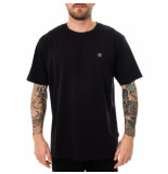 Dolly noire T-shirt uomo woven label ts006.blk