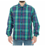 Tommy Hilfiger Giubbotto uomo tommy jeans plaid coach jacket dm0dm05972