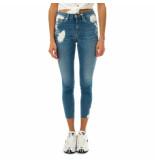 Tommy Hilfiger Jeans donna tommy jeans nora mr skinny ankle dw0dw08382.1bk