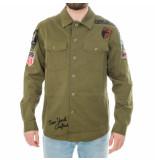 Top gun Camicia uomo military shirt tgr1902.179