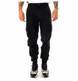 Dolly noire Pantaloni uomo cargo long pants ripstop sh127