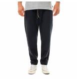 Shoe Pantaloni tuta uomo pique chino with elastic waist paz85104.nvy