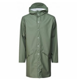 Rains Regenjas long jacket olive