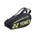 Yonex Tennistas pro racket bag 92026 black yellow