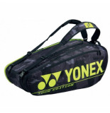 Yonex Tennistas pro racket bag 92029 black yellow