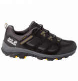 Jack Wolfskin Wandelschoen men vojo 3 texapore low black burly yellow xt