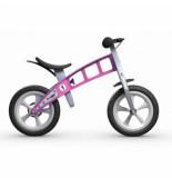 FirstBike Loopfiets basic pink with brake