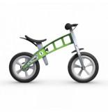 FirstBike Loopfiets basic green with brake