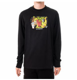 HUF T-shirt uomo the munchies l/s tee ts01167