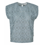 Zusss Blouse broderie blouseje