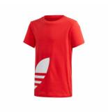 Adidas T-shirt bambino big trefoil tee fm5667