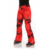 Rehall Keely-r snowpants red pink
