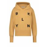 Penn & Ink S21f869 604-90 penn en ink ny hoodie print cinnamon black