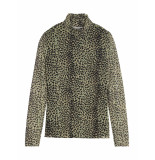 Catwalk Junkie 2102010605 jungle leopard longsleeve 701 patina green -