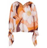antik batik Miami zalm blouse