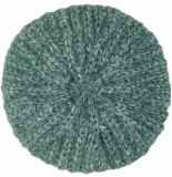 King Louie Beret braid fir green