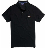 Superdry Classic pique s/s polo blk