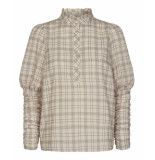 Co'Couture Rowland check blouse