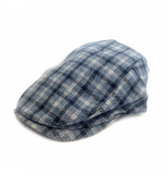 A Fish Named Fred 22.0.280 flat cap blue check blue -
