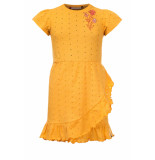 Looxs Revolution Jersey jurkje broderie anglaise voor meisjes in de kleur