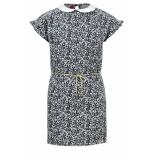 Looxs Revolution Viscose jurkje met kraagje voor meisjes in de kleur