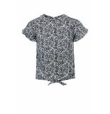 Looxs Revolution Viscose blouse antra bloem voor meisjes in de kleur
