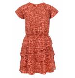 Looxs Revolution Zomer jurk chiffon voor meisjes in de kleur